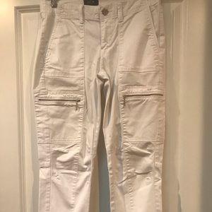 White House Black Market white pants. Size 2